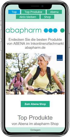 Web Projekt Gesundheit - Web Agentur FRASCHE.de - iPhone