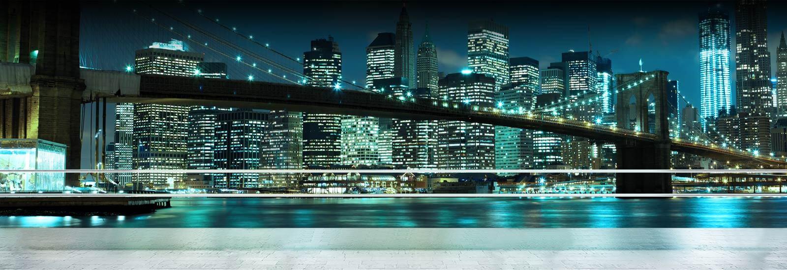 Werbebanner Brooklyn Plakete 1600x550