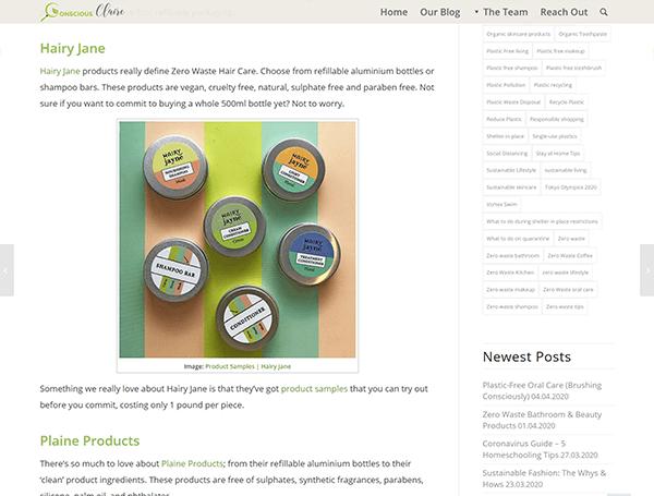 projekt zero waste blog - details 04