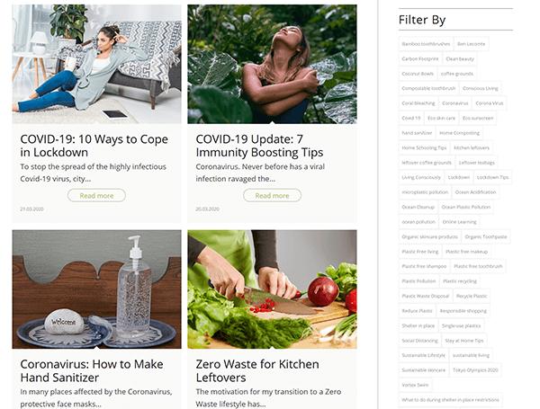 projekt zero waste blog - details 02
