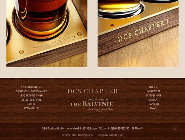 The Balvenie DCS - Footer