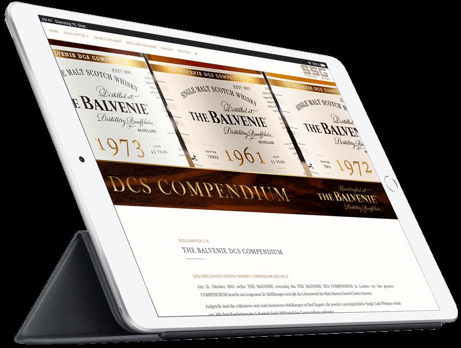 The Balvenie DCS - iPad Air