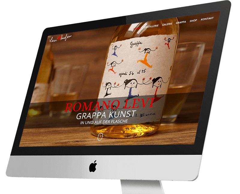 wordpress projekt romano levi monitor