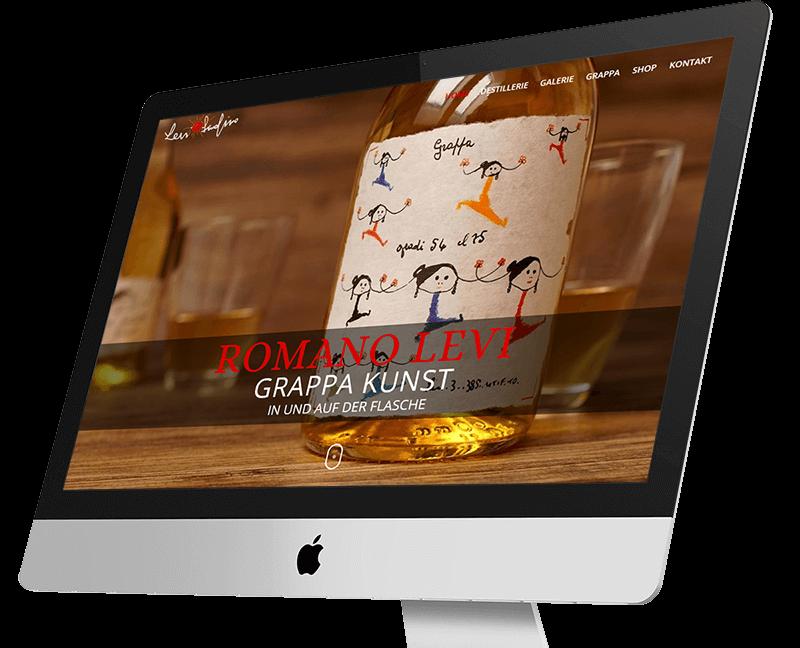 wordpress projekt romano levi monitor